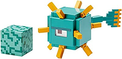 Minecraft Swimming Guardian Figure