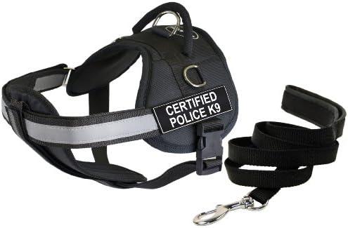 Dean & Tyler – 34 por 119,38 cm Certificado Policía K9 Arnés del ...