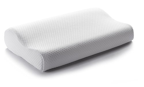 cheer-collection-hypoallergenic-contoured-memory-foam-pillow-with-zip-off-cover