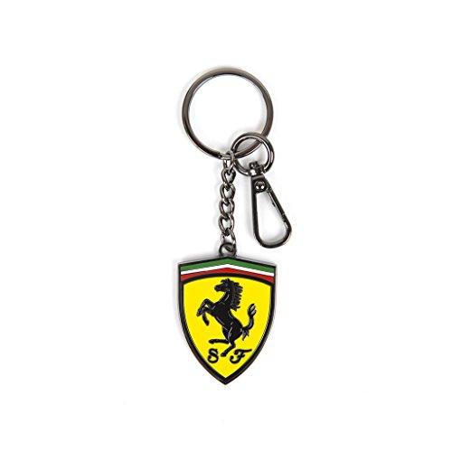 Scuderia Ferrari Formula 1 Metal Shield Keychain