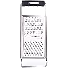 Luoke Kitchen Graters Cheese Grater,Ginger Grater & Lemon Zester Micro Blade Cover Stainless Steel Razor Sharp Teeth - High Performance - For Vegetables, Fruits, Cheese, Chocolate