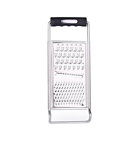 ZYluoke Kitchen Graters Cheese Grater,Ginger Grater & Lemon Zester Micro Blade Cover Stainless Steel Razor Sharp Teeth - High Performance - for Vegetables, Fruits, Cheese, Chocolate by ZYluoke