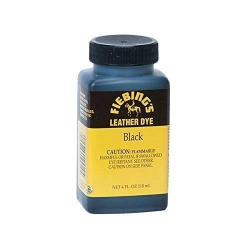 Fiebing's Leather Dye w/Applicator 4 oz. (Black)