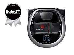 Save time and effort by letting the Samsung Powerbot R7065 robotic vacuum handle the vacuuming for you. Powerful suction delivers optimal cleaning results. Maximize cleaning coverage as it navigates your home with ease and avoids obstacles, while the...