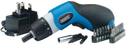 Old Version Draper 23030 3.6-Volt Cordless Palm Screwdriver Kit  Ni-CD Battery