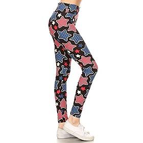 - 41b JOW3rVL - Leggings Depot Yoga Waist REG/Plus Women's Buttery Soft Leggings