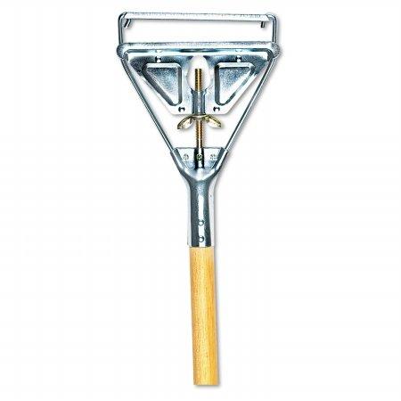(Boardwalk 605 Quick Change Metal Head Mop Wood Handle - 54 in.)