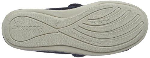 Padders 427W, Zapatos con Velcro Mujer Azul (marino)