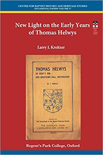 New Light on the Early Years of Thomas Helwys