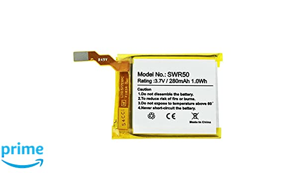 Batería de polímero de Litio para Sony SmartWatch 3, SWR50 ...