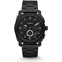 Men's FS4552 Machine Black Stainless Steel Chronograph Watch