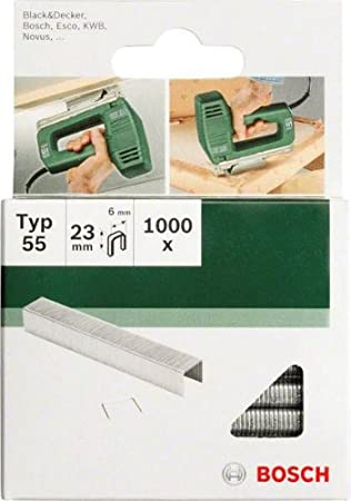 Bosch 2609255830 28mm Type 55 Narrow Crown Staples Pack of 1000