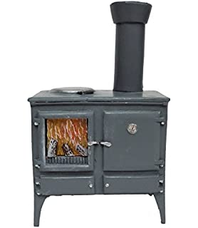 Amazon.com: Melody Jane Dollhouse Cooker Stove 1:48 Scale 1 ...
