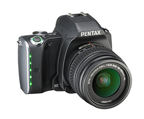 (Pentax digital SLR camera (black) lens kit regular color K-S1)