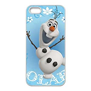 Frozen Elephant Design Solid Rubber Customized Cover Case for iPhone 5 5s 5s-linda691