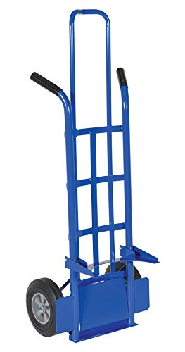 Vestil PAIL-T Pail Hand Truck with Dual Handle, 56-3/16