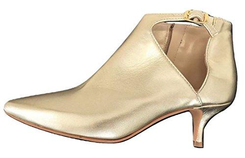 Zapatos Dorado Lucchi Ovyè Oro corte para Cristina de by mujer 1wP1gqTr