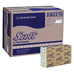 Kimberly-Clark 03623 Scott C-Fold Towel