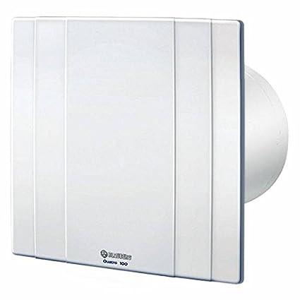 Aspiratore da Bagno - Blauberg Quatro 100 Bianco - 88 m3/h: Amazon ...