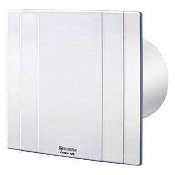 aspiratore da bagno blauberg quatro 100 bianco 88 m3h