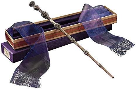 La varita de saúco en la caja de Ollivander