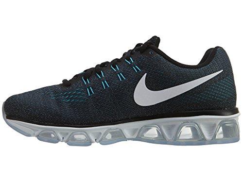 Zapatillas para correr Nike Mens Air Max Tailwind 8, Negro / Niebla oce¨¢nica / Gamma azul / blanco, 8.5 D (M) US