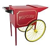Paragon - Manufactured Fun Cart for 8 oz Popper, Medium, Red