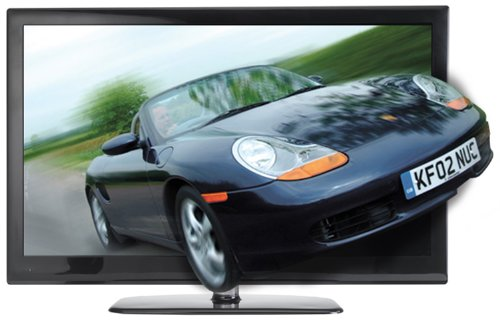 Manta 3D LCD4214 42-inch Widescreen 1080p Full HD 3D LCD TV with Freeview and 4 Pairs of 3D Glasses
