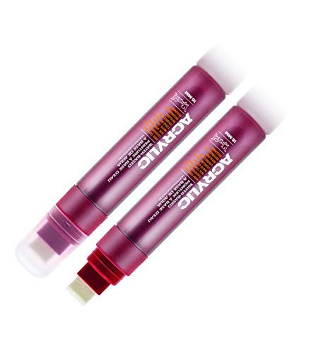 Montana Acrylic Paint Marker, 15mm, Standard Nib, Shock Kent Blood Red (045400) ()