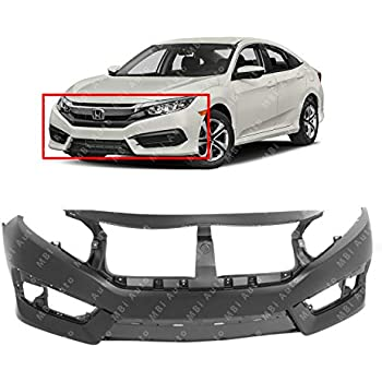 AM Front Bumper Cover For Honda Civic