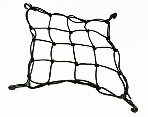 Fenix Heavy Duty CARGO NET Bike Rear Racks Carrier Baskets Secure 25-40cm Elastic Black