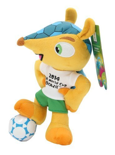 Fuleco plush 22 cm standing on ball - The official mascot of the 2014 FIFA World