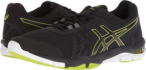 Neon Trainer - ASICS Mens Gel-Craze TR 4 Black/Neon Lime Cross Trainer - 12