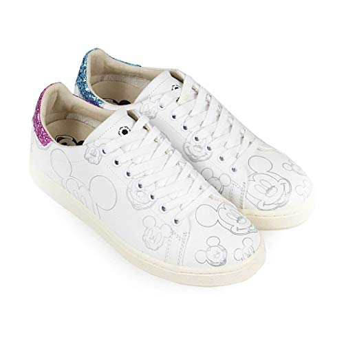 Zapatillas Cuero Md314white Blanco Moa Mujer 0qf8FnWT
