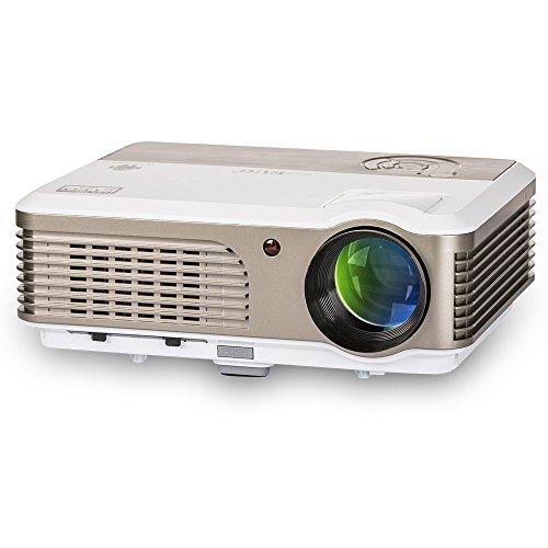 Video Projector- 2600 Lumens LED HDMI 1080P Multimedia- f...