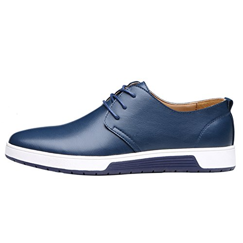 QCO Business Lace-up Oxfords Formal Wedding Dress Shoes for Men 11 by QCO (Image #3)