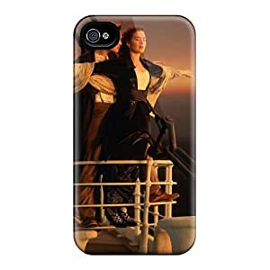 Durable Titanic Back Case/cover For Iphone 4/4s