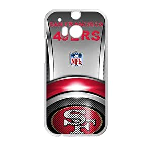 Happy SF Sanfancisco Design Fashion Comstom Plastic case cover For HTC One M8
