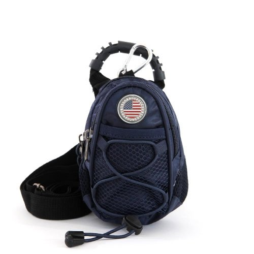 CMC Golf USA Flag Mini Daypack, Navy