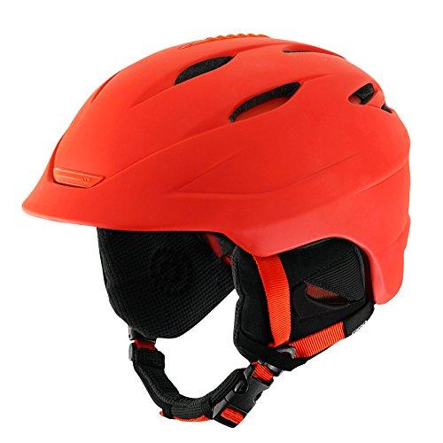 Giro Seam Snow Helmet - Men's Matte Glowing Red Medium