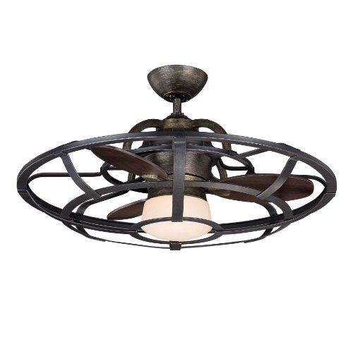 Savoy House 26-9536-FD-196 Alsace Fan D'lier 26' Ceiling Fan, Recalimed Wood