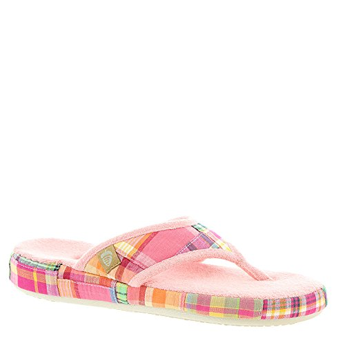 Sandals Acorn (Acorn Womens Thong Summerweight (Medium/6.5-7.5 B(M) US, Bright Madras))
