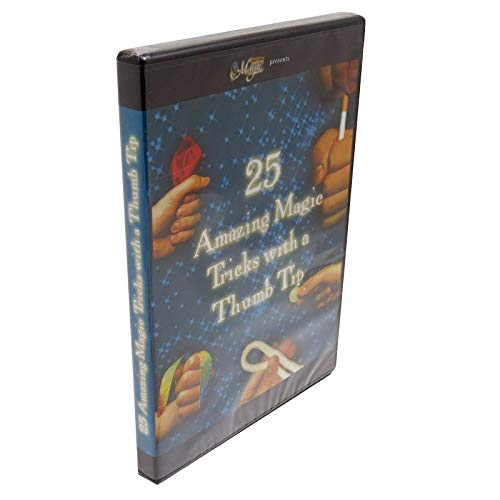 Royal Magic 25 Amazing Magic Tricks with a Thumb Tip DVD from