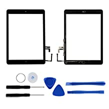 Front Touch Screen Assembly for iPad air/ipad 5, Tongyin Digitizer Replacement Parts Include Adhesive and Repair Toolkits