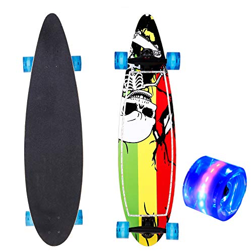 Led Light Up Longboard Wheels in US - 3