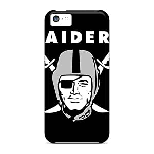 Hot YAN9270PxHE Case Cover Protector For Iphone 5c- Oakland Raiders