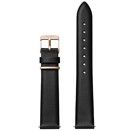 - LA TÉTRAGONE Strap Black/Rose Gold CLS603