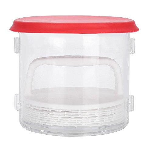 Asixx Burger Maker, Plastic Patty Hamburger Meat Compactor Press Maker Burger Mold Kitchen DIY Tool Gadget