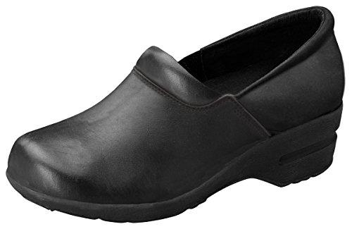 Cherokee Padded Collar - Footwear By Cherokee Women's Patricia Step In Nursing Shoe Black