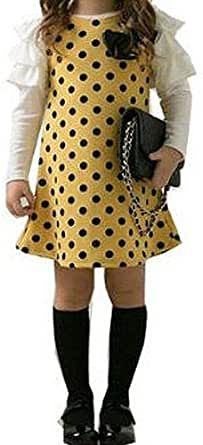 Jersey Casual Dress For Girls